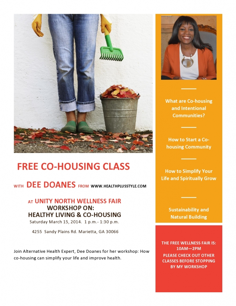 Health Plus Lifestyle Cohousing Events